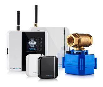 Система защиты от протечек воды. Беспроводной комплект  системы waterleak 2*20 +7 (383) 213-40-63