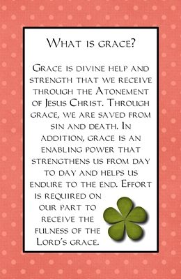 78 Best images about YW: 03.04 ~ What is grace? on ...