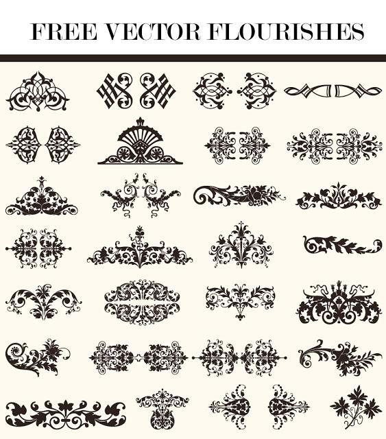 CT-Designs: Free Vector Flourishes