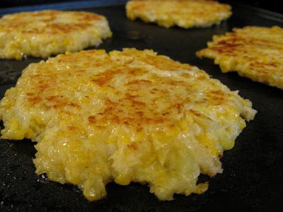 Cheesy Cauliflower Cakes: Low Carb Recipe