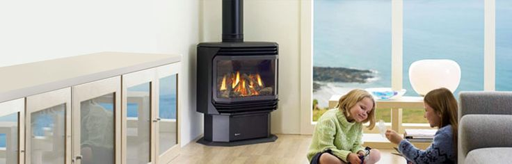REGENCY FG38 Gas Log Fire: Regency Medium Gas Freestanding - These Regency gas log fires feature the finest, most realistic gas fire available. Enjoy the exceptional flame through the wide one piece glass door designed to showcase the glowing flames and embers. Choose manual or electronic ignition and one of two flue options to ensure the right Regency for your home. #Heating #GasHeating #Freestanding #Regency #HeathHouse