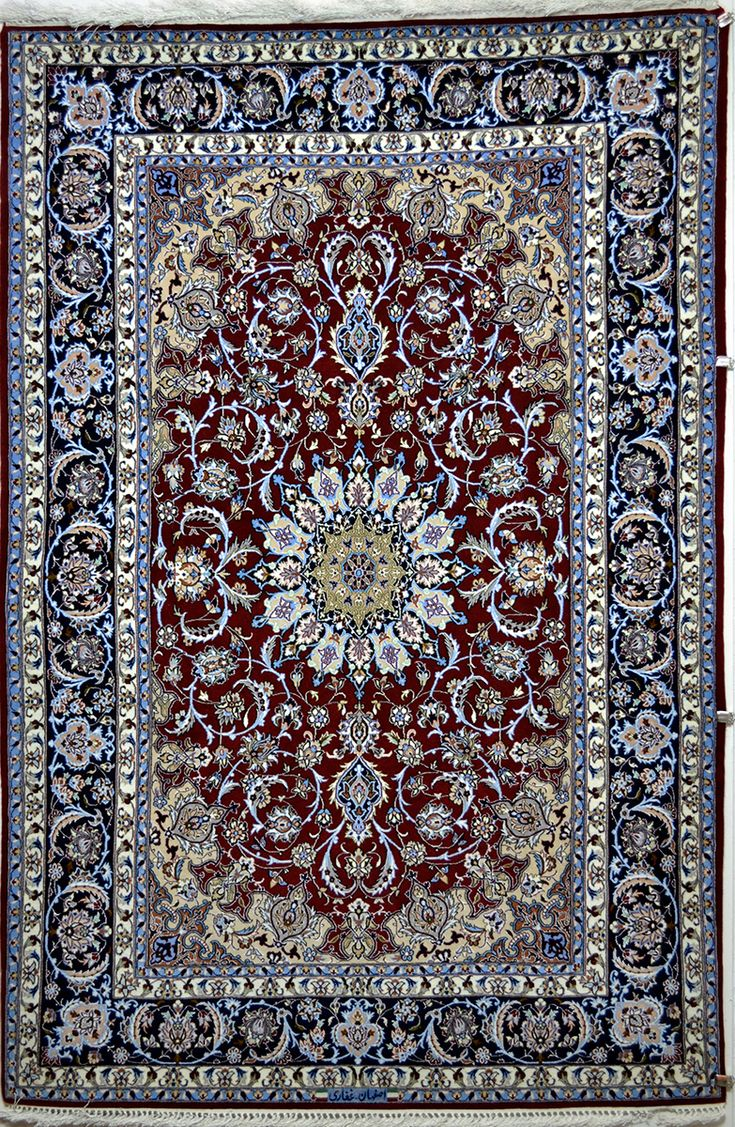Isfahan Silk Persian Rug | Exclusive collection of rugs and tableau rugs - Treasure Gallery Isfahan Silk Persian Rug You pay: $3,400.00 Retail Price: $9,200.00 You Save: 63% ($5,800.00) Item#: 778 Category: Small(3x5-5x8) Persian Rugs Design:  Size: 231 x 153 (cm)      7' 6 x 5' 0 (ft) Origin: Persian, Isfahan Foundation: Silk Material: Wool & Silk Weave: 100% Hand Woven Age: Brand New KPSI: 600
