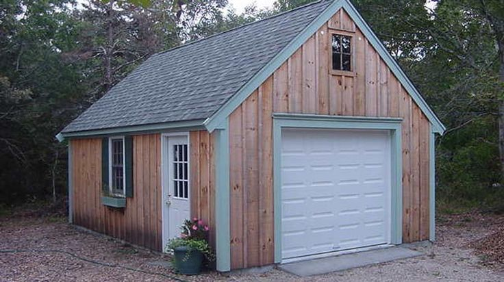 Tiny Home Designs: 16X20 Garage Plans