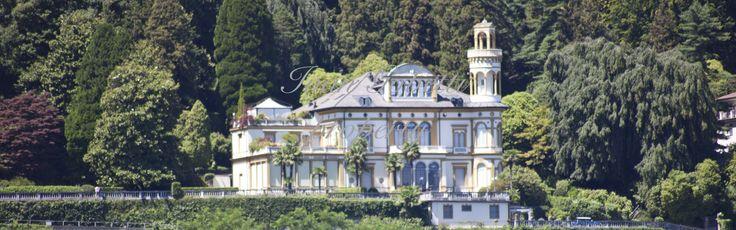 Apartment with swimming pool and view of the lake maggiore, Borromeo Gulf, in historic prestigious villa