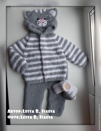 """Одежда для мальчиков, ручной работы. Ярмарка Мастеров - ручная работа Костюм """"Котенок Мур"""". Handmade."""