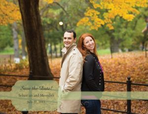 This bride saved a ton on save the dates using Vistaprint deals!