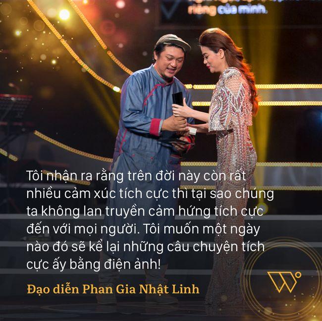 Tất cả chúng ta đều được truyền cảm hứng bởi những câu nói này trong đêm Gala WeChoice Awards 2016 - Ảnh 7.
