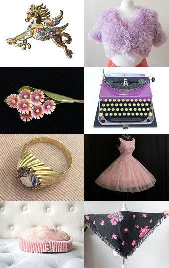 Eclectic Vintage No 1 by Karen Marlette on Etsy--Pinned with TreasuryPin.com