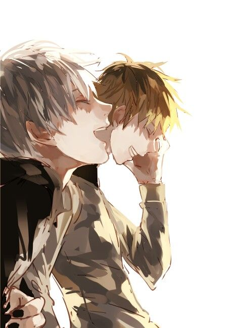 Kaneki, Hide ~ Tokyo Ghoul Please let them both be happy and in a happy ending