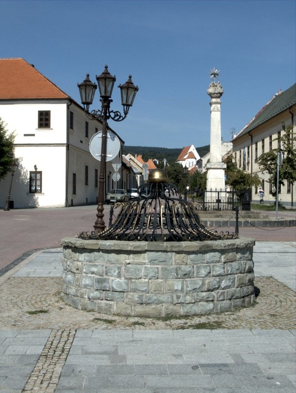 Svätý Jur, is a small town northeast of Bratislava, Slovakia. The square with…