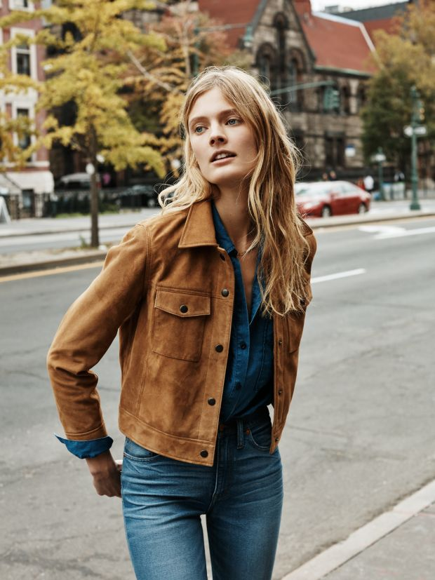 Suede jackets are the retro chic item you need to take your wardrobe to the next level this season | http://www.hercampus.com/school/sju/spring-2017-fashion-essentials