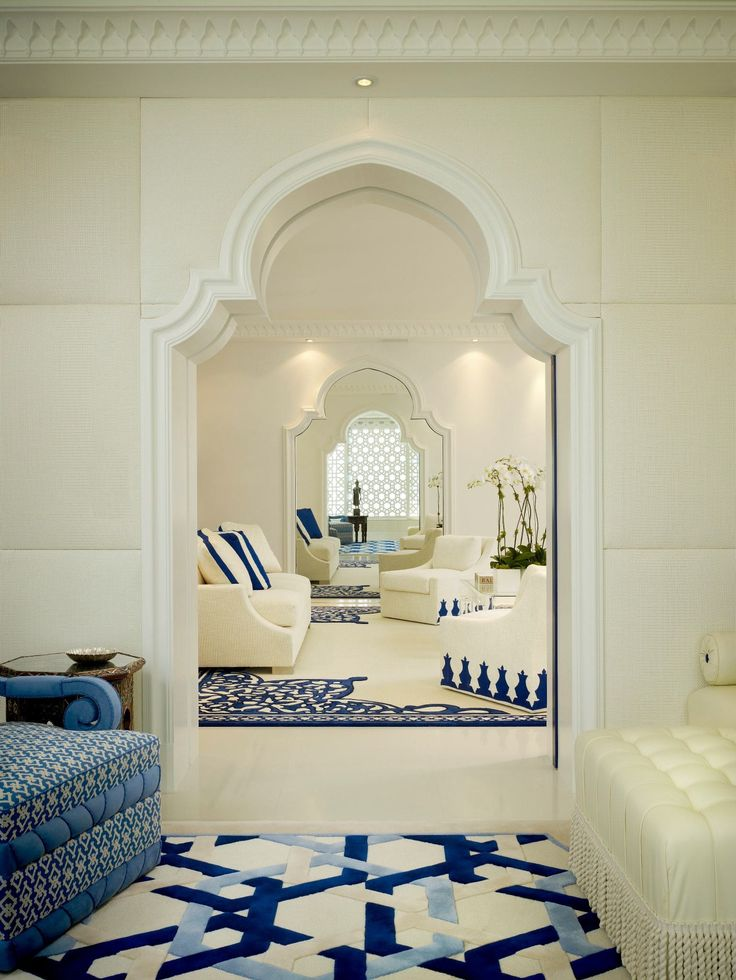 Middle eastern inspired interior