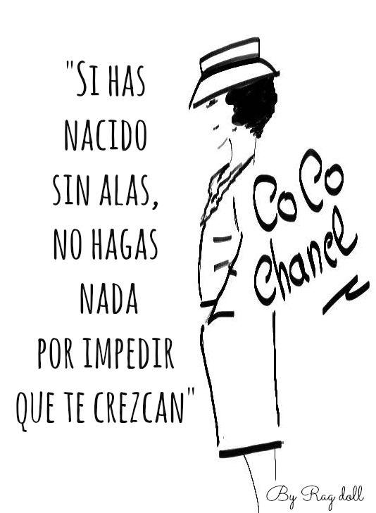 Coco Chanel #Quotes #Citas #Lunesdecitas