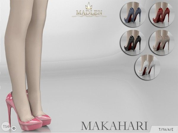 The Sims Resource: Madlen Makahari Shoes by MJ95 • Sims 4 Downloads