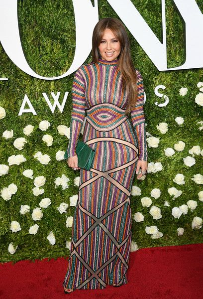 Singer Thalia attends the 2017 Tony Awards at Radio City Music Hall on June 11, 2017 in New York City.