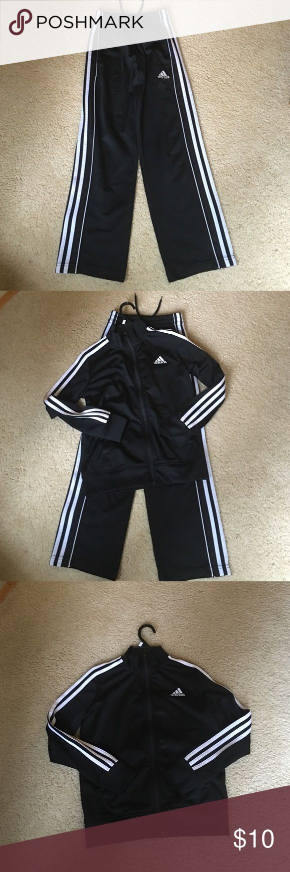 Adidas sweatshirt and sweatpants  for boys Nice, comfortable gently used adidas training suit for boys size s, Adidas Matching Sets