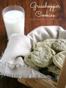 Grasshopper Cookies | Jens Favorite Cookies (mint and Oreo!)