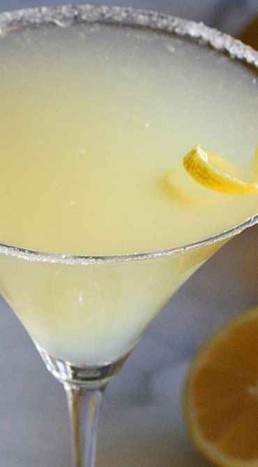 The Perfect Lemon Drop Martini