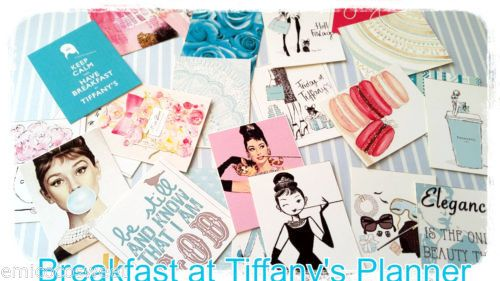 Breakfast at Tiffany's Planner Stickers,Movie stickers,Cute Kawaii Stickers