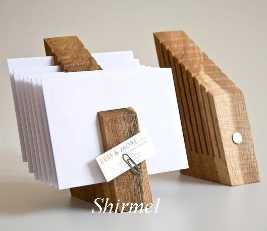 Бизнес сувениры из дерева