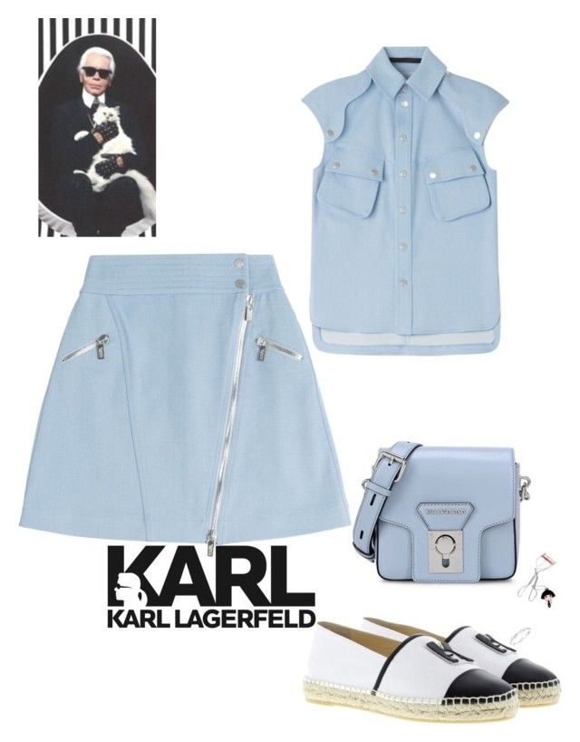 Untitled #2 by sahel7 on Polyvore featuring polyvore, Karl Lagerfeld, shu uemura, fashion, style and clothing