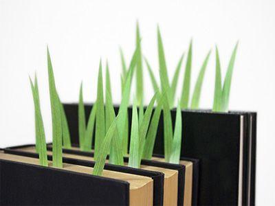 grass bookmarks