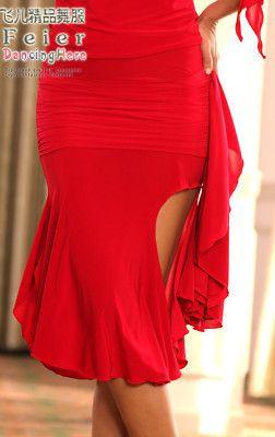 Latin salsa tango Ballroom Dance Dress #S8010 skirt | eBay