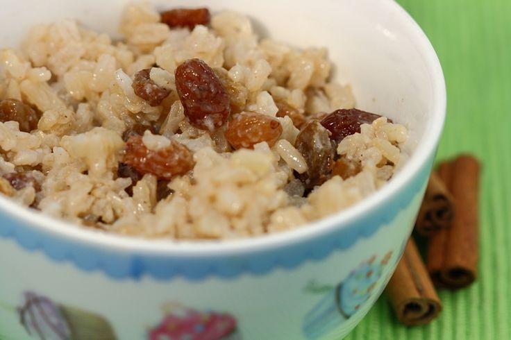 Voor deze rijstepap kun je zowel zilvervlies- als witte rijst nemen, wat je…