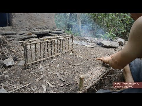 Woven bark fiber – Primitive Technology | The Kid Should See This