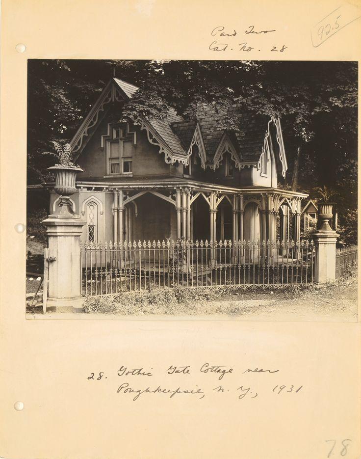 Walker Evans, [Gothic Cottage near Poughkeepsie, New York], 1931