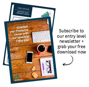Are you starting out in #media or #digital? Subscribe to our entry level jobs newsletter for the latest great roles - AND you'll score our free download: your 7 Day Plan To Kickstart Your Freelance Career!