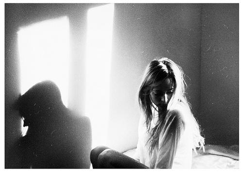 inspiration for my 35mm black+white film for portraits!