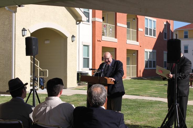 Mayor Raul Salinas Grand Opening of La Terraza at Lomas Del Sur in Laredo, Texas. NRP Group LLC development with Aguillon