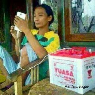 Nih baru power bank...