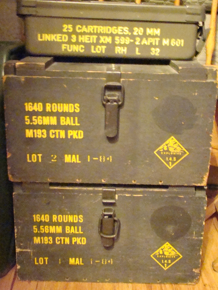 military metal ammo box & 25 best army surplus images on Pinterest | Army surplus Ammo ... Aboutintivar.Com