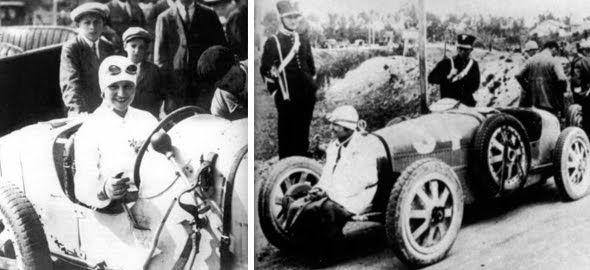 Eliška Junková první česká automobilová závodnice 5 místo na Targa Florio 1928 1900-1994