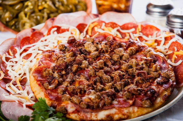 Had a long day? This calls for a fulfilling meal! Order the pizza your appetite craves, order The Meatzza! #PizzaManDans www.pizzamandans.com/locations