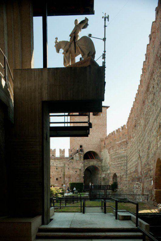 Museo Castelvecchio. Image © Flickr CC user Leon