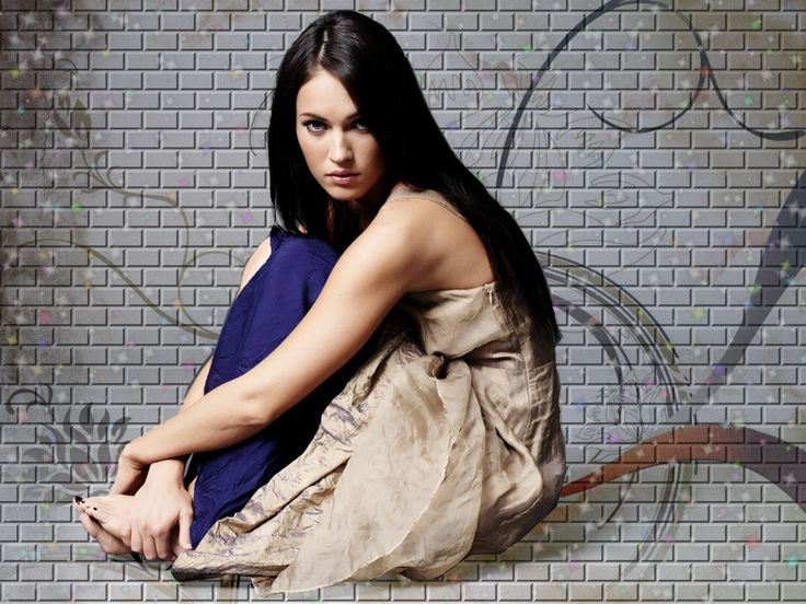 Megan Fox - gratis bakgrunnsbilder: http://wallpapic-no.com/kjendiser/megan-fox/wallpaper-2610