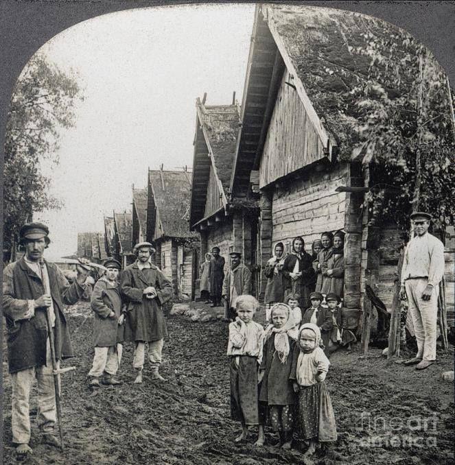 Los campesinos de la Rusia Imperial, alrededor del año 1900.