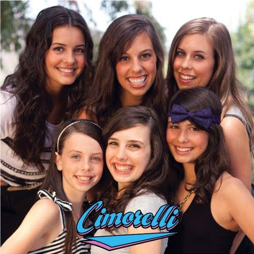 Cimorelli, six amazing sisters that sing. If you've never heard of them look them up on YouTube. They are really good!!