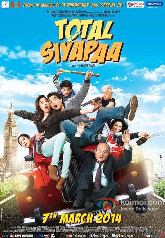 Total Siyapaa (2014) DVDRip 700 MB Mkv Download