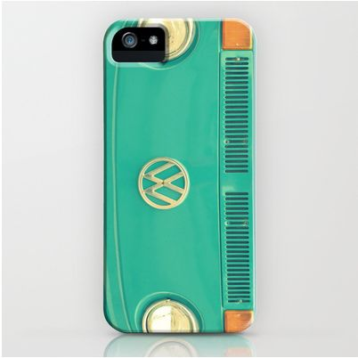 Retro VW bus iPhone case!