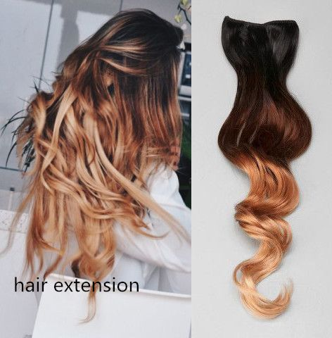 Fashion ombre hair extensions!! To be chic and stylish with it.