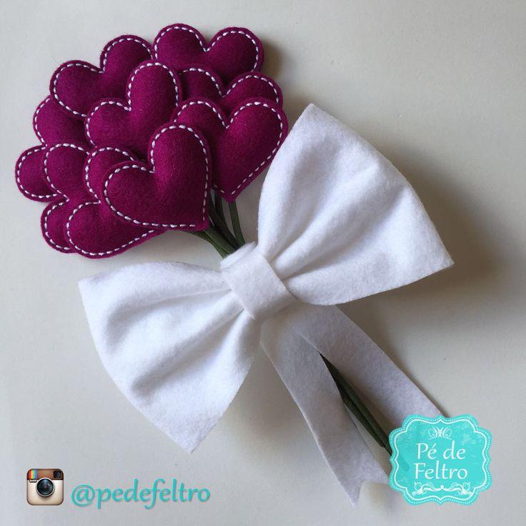 buque-de-feltro-fuchsia-daminhas-bouquet