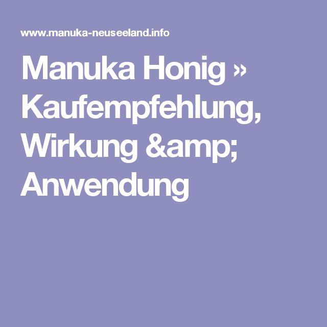Manuka Honig » Kaufempfehlung, Wirkung & Anwendung