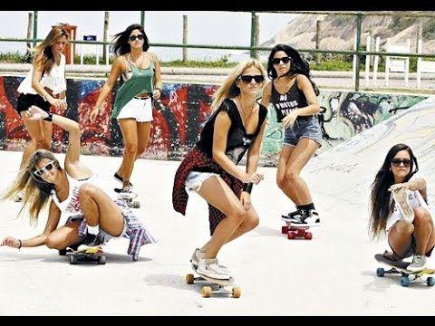 Some of the best girls skaters on the planet! Awesome skateboarding tricks by Alana Smith, Leticia Bufoni, Karen Jonz, Pamela Rosa, Jessica Florencio, Samarria Brevard, Lacey Baker, Rachel Reinhard, Elissa Steamer...