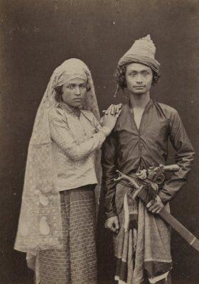 Bangswan Atjeh dan istrinya. 1900-1920