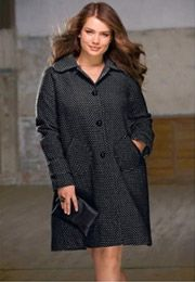 Manteau grande taille : 10 manteaux tendance pour l'hiver 2011 2012 | Vivelesrondes !