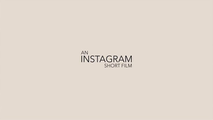 An Instagram short film. Instagram is an incredible resource for all kinds of images. I wanted to create structure out of this chaos. The re...